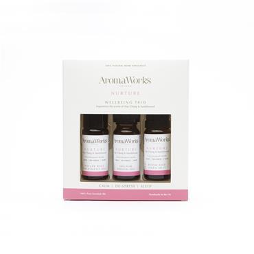 Aroma Works Nurture Wellbeing Trio 10ml x 3