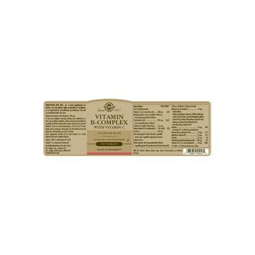 Solgar Vitamin B-Complex with Vitamin C 100