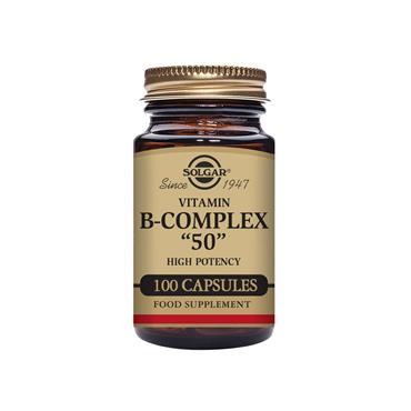 Solgar FORMULA VITAMIN B COMPLEX 50 capsules 100s