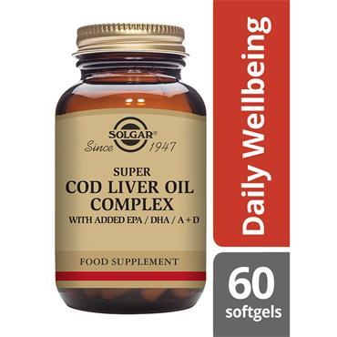 Solgar Super Cod Liver Oil Complex 60