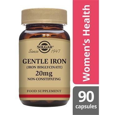 Solgar Gentle Iron™ 20 mg 90