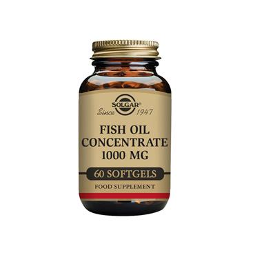 Solgar Fish Oil Concentrate 1000 mg 60