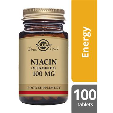 Solgar Niacin (Vitamin B3) 100 mg 100