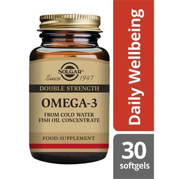 Solgar Double Strength Omega-3 40 30