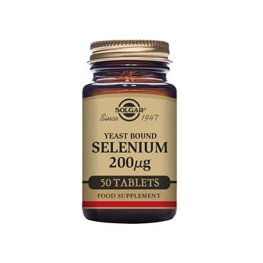 Solgar Selenium 200 ug (Yeast Bound) 50