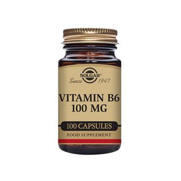 Solgar Vitamin B6 100 mg 100