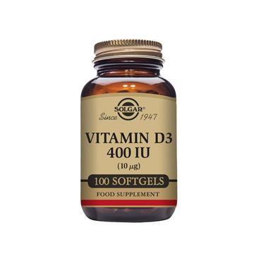 Solgar Vitamin D3 400 IU (10 ug) 100