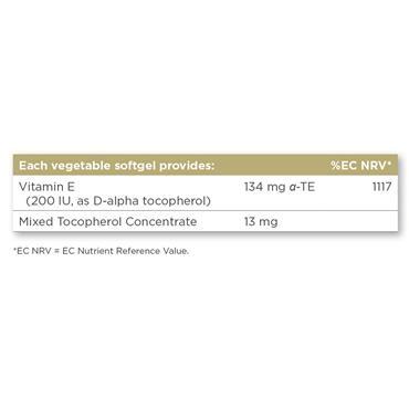 Solgar Vitamin E 134 mg (200 IU) 50