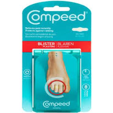 COMPEED BLISTER PLASTERS TOES 8S
