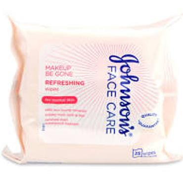 JOHNSONS MAKE UP BE GONE WIPES NORMAL SKIN TYPES 25