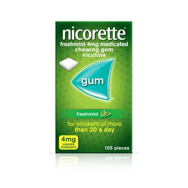 Nicorette Freshmint 4mg 105