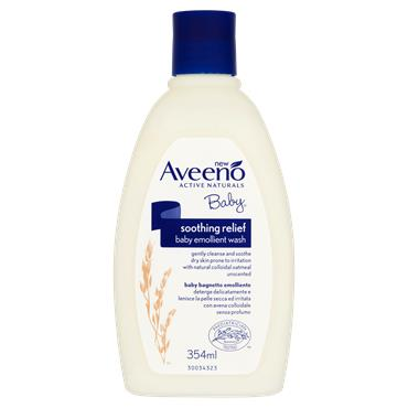 AVEENO BABY SOOTHING RELIEF CREAM WASH 354ml