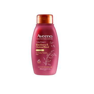 Aveeno Colour Protect Blackberry & Quinoa Blend Shampoo 354ml