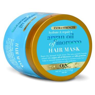 OGX ARGAN OIL OF MORROCO HAIR MASK EXTRA STRENGTH 168G