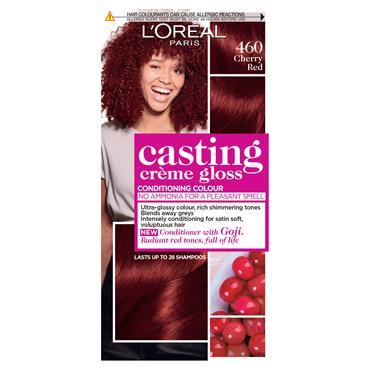 L'Oreal Casting Creme Gloss 460 Cherry Red Semi Permanent Hair Dye