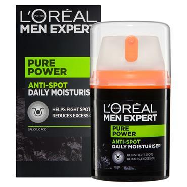 L'Oreal Men Expert Pure Power Anti-Spot Daily Moisturiser 50ml