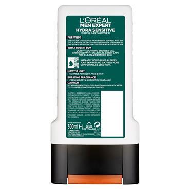 L'Oreal Men Expert Hydra Sensitive Shower Gel 300ml