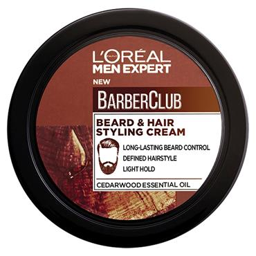 L'Oreal Men Expert Barber Club Beard Hair Styling Cream 75ml