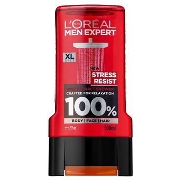 L'Oreal Men Expert Stress Resist Shower Gel 300ml