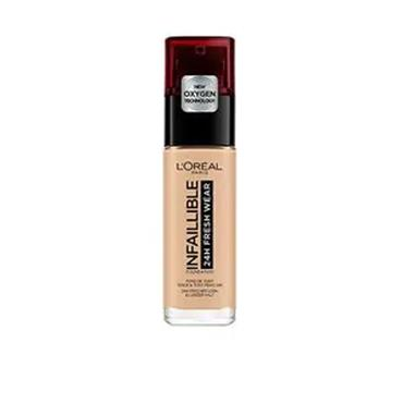 L'OREAL PARIS INFAILLIBLE 24H FRESH WEAR FOUNDATION SPF 25 NATURAL ROSE 125