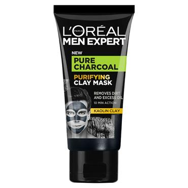 L'Oreal Men Expert Pure Charcoal Purifying Clay Mask 50ml