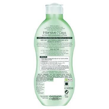 Garnier Intensive 7 Days Shea Butter Body Lotion Dry Skin 400ml