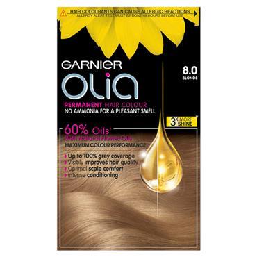 Garnier Olia 8.0 Blonde Permanent Hair Dye