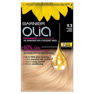 Garnier Olia 9.3 Golden Light Blonde Permanent Hair Dye
