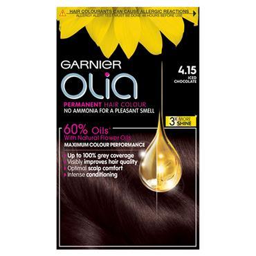 Garnier Olia 4.15 Iced Chocolate Brown Permanent Hair Dye