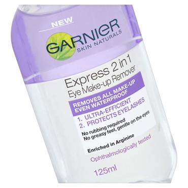 Garnier Skin Naturals 2in1 Eye Make-up Remover 125ml