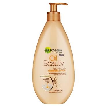 Garnier Oil Beauty Body Lotion Dry Skin 400ml