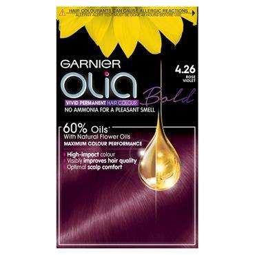Garnier Olia Bold 4.26 Rose Violet Permanent Hair Dye