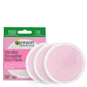 Garnier Skinactive Micellar Reusable Eco Pads 3