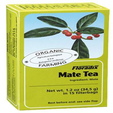FLORADIX Organic Mate Tea 15 Teabags