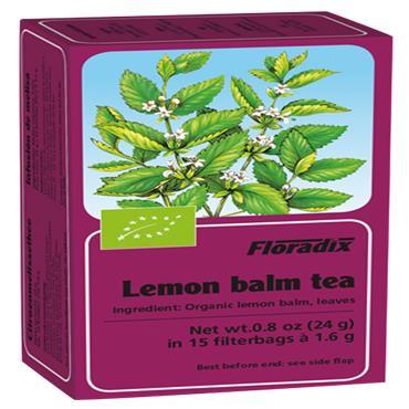 FLORADIX Organic Lemon Balm Tea 15 Teabags