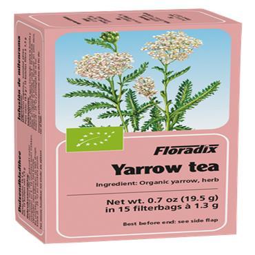 FLORADIX Organic Yarrow Tea 15 Teabags