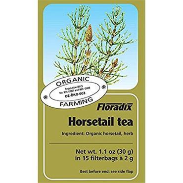 FLORADIX Organic Horsetail Tea 15 Teabags