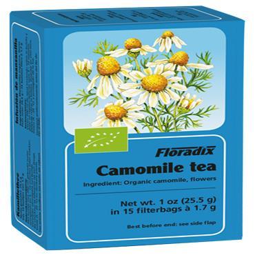 FLORADIX Organic Chamomile Tea 15 Teabags