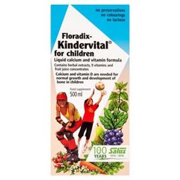 FLORADIX Kindervital Liquid Formula 500ml