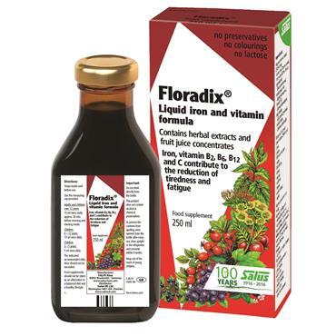 FLORADIX FLORADIX LIQUID IRON 250ml