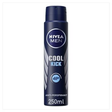 Nivea MEN Deodorant Cool Kick Spray 250ML