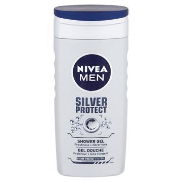 Nivea MEN Shower Silver Protect 250ML