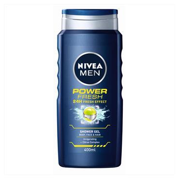 Nivea Shower Men Power Fresh 400ML