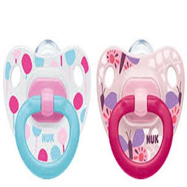 Nuk Happy Days Silicone Soother Mix S3