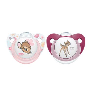 NUK soother S3 Bambi 2 pack