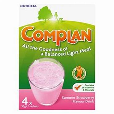 Complan strawberry sachets 4