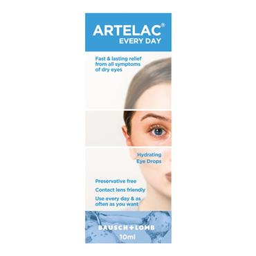 ARTELAC EVERY DAY EYE DROPS  10ML
