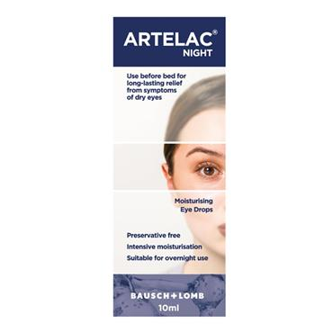 ARTELAC NIGHT EYE DROPS  10ML