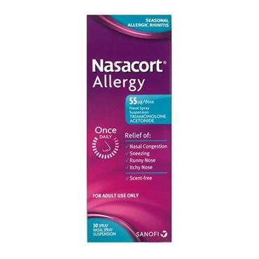 Nasacort 55mg Nasal Spray 30 dose