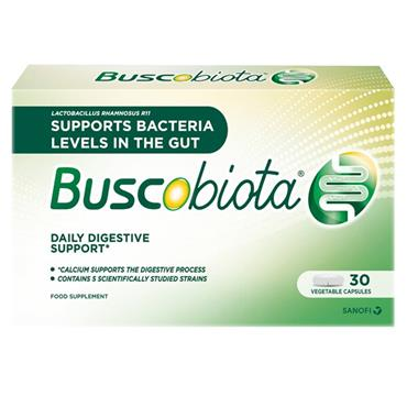 BUSCOBIOTA DAILY DIGESTIVE SUPPORT CAPSULES 30s